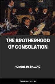 The Brotherhood of Consolation By Honore de Balzac
