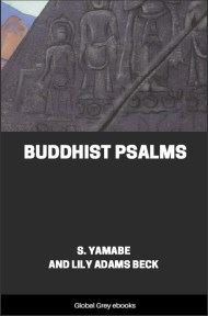 cover page for the Global Grey edition of Buddhist Psalms by S. Yamabe and Lily Adams Beck