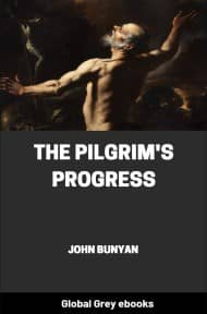 cover page for the Global Grey edition of The Pilgrim's Progress by John Bunyan