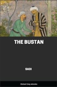 cover page for the Global Grey edition of The Bustan by Sadi