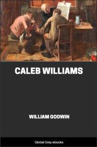 cover page for the Global Grey edition of Caleb Williams by William Godwin