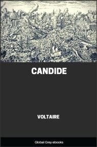 cover page for the Global Grey edition of Candide by Voltaire