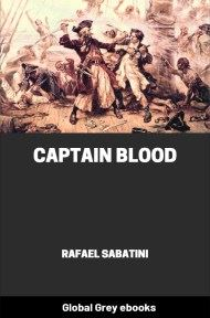 cover page for the Global Grey edition of Captain Blood by Rafael Sabatini