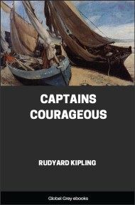 cover page for the Global Grey edition of Captains Courageous by Rudyard Kipling