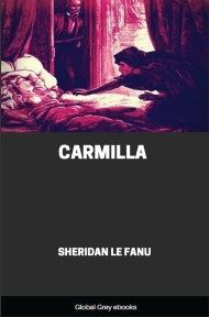 cover page for the Global Grey edition of Carmilla By Sheridan Le Fanu