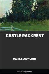 cover page for the Global Grey edition of Castle Rackrent By Maria Edgeworth