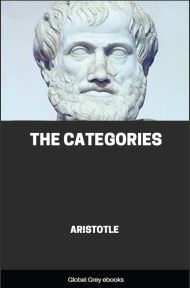 cover page for the Global Grey edition of The Categories by Aristotle