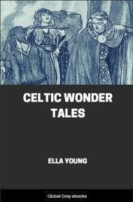 cover page for the Global Grey edition of Celtic Wonder Tales by Ella Young