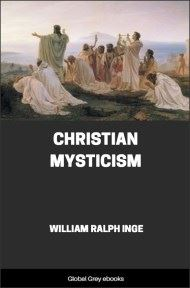 cover page for the Global Grey edition of Christian Mysticism by William Ralph Inge