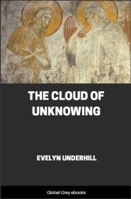 cover page for the Global Grey edition of The Cloud of Unknowing by Evelyn Underhill