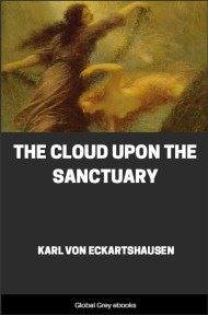 cover page for the Global Grey edition of The Cloud Upon the Sanctuary by Karl Von Eckartshausen