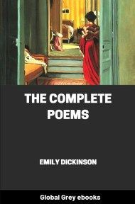 cover page for the Global Grey edition of The Complete Poems by Emily Dickinson