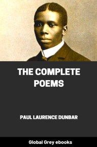 cover page for the Global Grey edition of The Complete Poems by Paul Laurence Dunbar