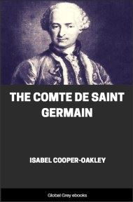 cover page for the Global Grey edition of The Comte De Saint Germain by Isabel Cooper-Oakley
