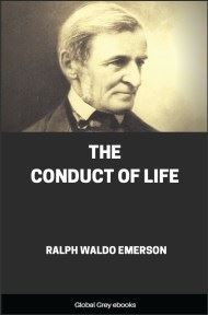 cover page for the Global Grey edition of The Conduct of Life by Ralph Waldo Emerson