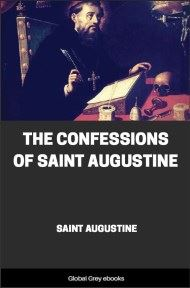 cover page for the Global Grey edition of The Confessions of Saint Augustine by Saint Augustine