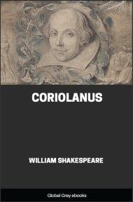 cover page for the Global Grey edition of Coriolanus by William Shakespeare