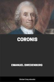 cover page for the Global Grey edition of Coronis by Emanuel Swedenborg