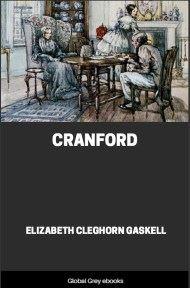 cover page for the Global Grey edition of Cranford By Elizabeth Cleghorn Gaskell