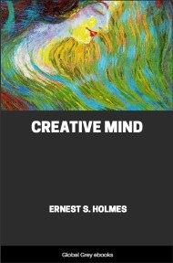 cover page for the Global Grey edition of Creative Mind by Ernest S. Holmes