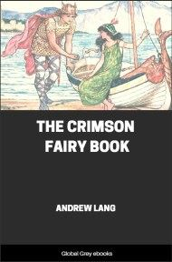 cover page for the Global Grey edition of The Crimson Fairy Book by Andrew Lang