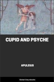 cover page for the Global Grey edition of Cupid and Psyche by Apuleius