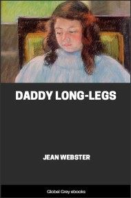 cover page for the Global Grey edition of Daddy Long-Legs by Jean Webster