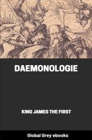 cover page for the Global Grey edition of Daemonologie by King James The First