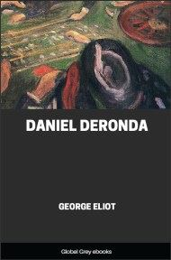 cover page for the Global Grey edition of Daniel Deronda by George Eliot