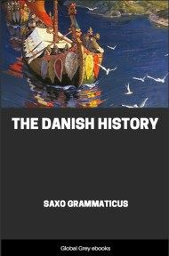 cover page for the Global Grey edition of The Danish History by Saxo Grammaticus