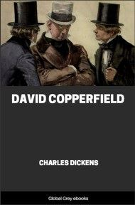 cover page for the Global Grey edition of David Copperfield by Charles Dickens
