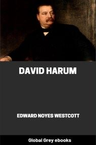 David Harum By Edward Noyes Westcott