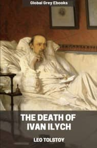 cover page for the Global Grey edition of The Death of Ivan Ilych by Leo Tolstoy