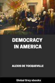 cover page for the Global Grey edition of Democracy in America by Alexis de Tocqueville