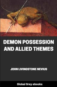 cover page for the Global Grey edition of Demon Possession and Allied Themes by John Livingstone Nevius
