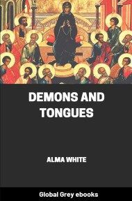 cover page for the Global Grey edition of Demons and Tongues by Alma White