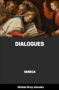 cover page for the Global Grey edition of Dialogues by Seneca