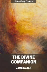 cover page for the Global Grey edition of The Divine Companion by James Allen