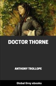 cover page for the Global Grey edition of Doctor Thorne by Anthony Trollope