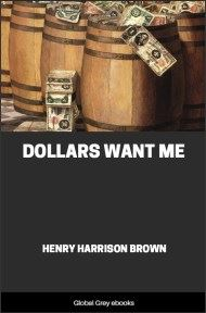 cover page for the Global Grey edition of Dollars Want Me by Henry Harrison Brown