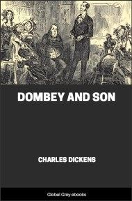 cover page for the Global Grey edition of Dombey and Son By Charles Dickens