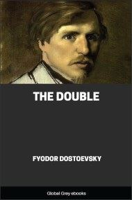 cover page for the Global Grey edition of The Double by Fyodor Dostoevsky