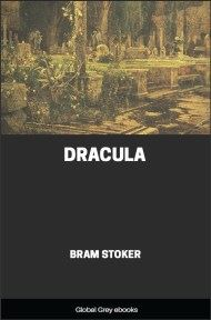 cover page for the Global Grey edition of Dracula By Bram Stoker