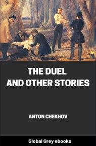 cover page for the Global Grey edition of The Duel and Other Stories by Anton Chekhov