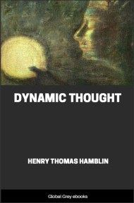 cover page for the Global Grey edition of Dynamic Thought by Henry Thomas Hamblin