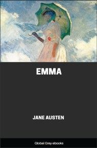 cover page for the Global Grey edition of Emma by Jane Austen