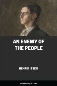 cover page for the Global Grey edition of An Enemy of the People by Henrik Ibsen