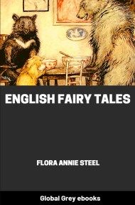 cover page for the Global Grey edition of English Fairy Tales by Flora Annie Steel
