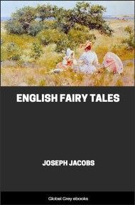 cover page for the Global Grey edition of English Fairy Tales by Joseph Jacobs