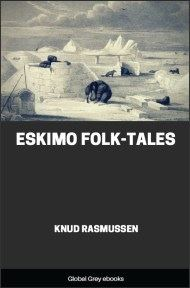 cover page for the Global Grey edition of Eskimo Folk-Tales by Knud Rasmussen